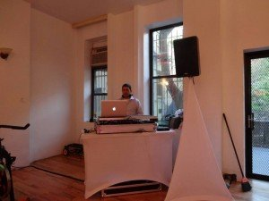 DJ Willie Soundz at Core Assets Fitness